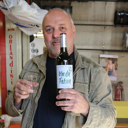 Le patron et son vin...